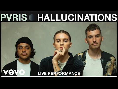 "PVRIS - ""Hallucinations"" Live Performance | Vevo"