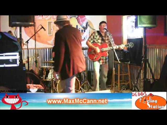 Redds Bar on 30a Open Mic Night Max McCann Last Chance for Mary Jane
