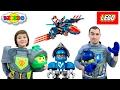 🦅 Лего Нексо Найтс 2017 Сокол Клэя 70351 Боевые Доспехи Клэя с Комбо Щитом 70362. LEGO NEXO KNIGHTS