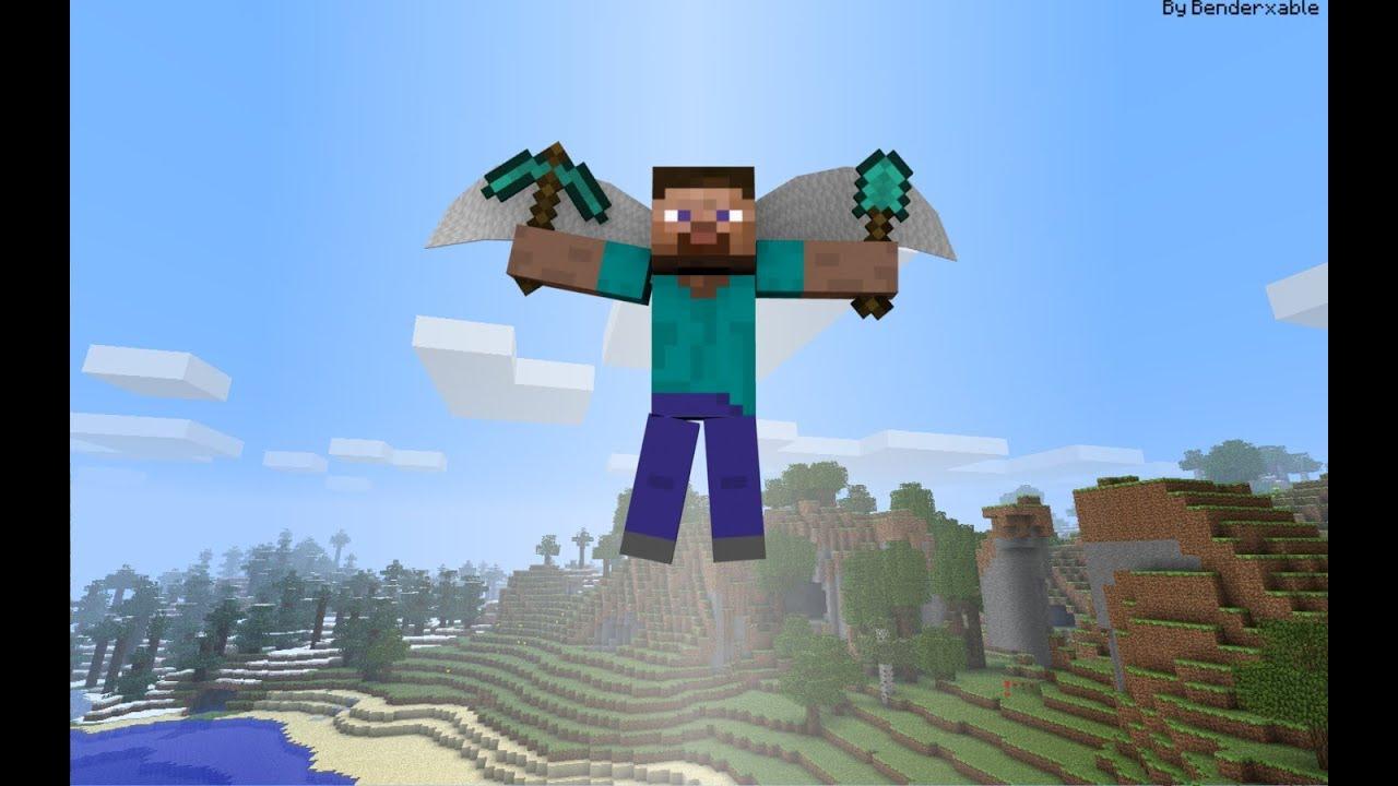 Minecraft как сделать летающую надпись