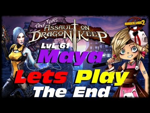 Borderlands 2 Tiny Tina Assault On Dragon Keep DLC Ending!!!