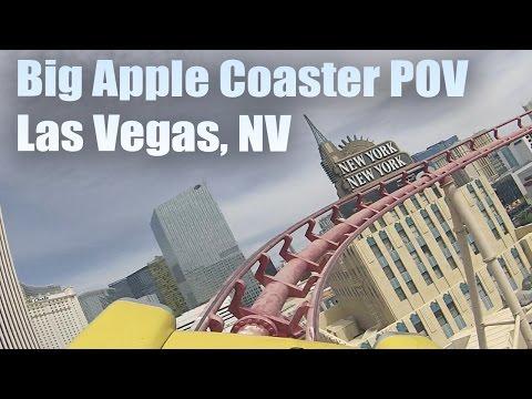 The Big Apple Coaster (POV) | Las Vegas | Unique Tourism