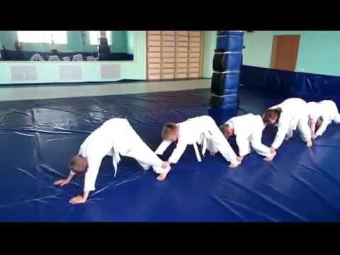 Айкидо  Детская тренировка  Короткий фильм