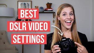 01. DSLR Settings For Video on YouTube | Canon 90d Tutorial