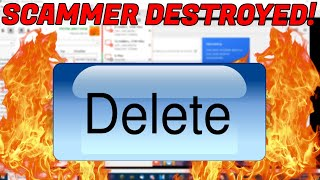 SCAMMER PUTS SYSKEY WHEN I DELETE HIS FILES!
