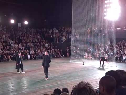 Y-3 Spring/Summer 2010 With Yohji and Zidane