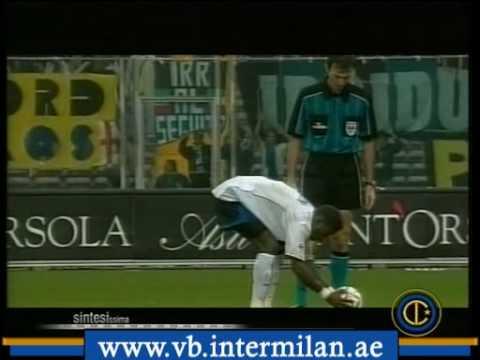 2001-2002 Torino vs Inter 0-1 Kallon (rigore)