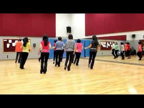 No Trouble - Line Dance (dance & Teach In English & 中文) video