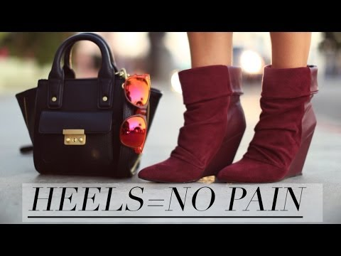 Walk In Heels With NO PAIN {How To}
