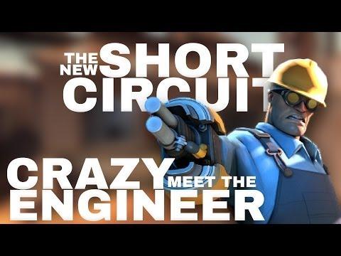 TF2 Christmas 2013 Update: New Short Circuit. Meet The Crazy Engineer!!!