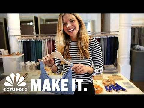 27-year-old CEO Is Taking On Nike And Lululemon | Making It New | CNBC