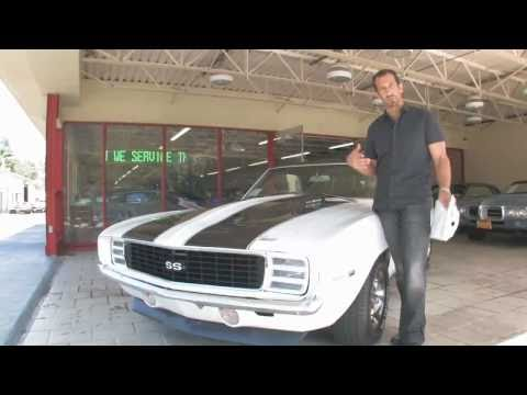 1969 Chevy Camaro SS 396 for sale with test drive, driving sounds, and walk through video