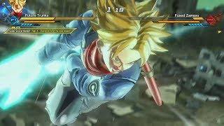 Fused Zamasu vs Future Trunks (Sword of Hope) Gameplay | DLC Pack #4 - Dragon Ball Xenoverse 2