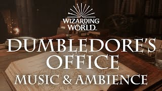 Harry Potter Music Ambience Dumbledore 39 S Office Office Sounds For Sleep Study Relaxing