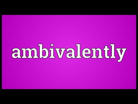 Header of Ambivalently