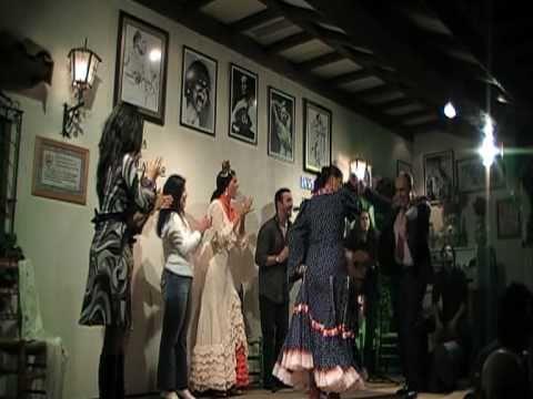 Fin de Fiesta Bulerias - Peña Al Andalus 25e Aniversario 2010 Belgica!!