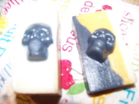 How to Make Halloween Gag Gift Melt and Pour Soaps