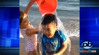 Definitely the cutiest Ice Bucket Challenges ever!