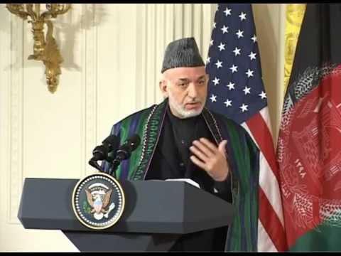 TV Report -- President Karzai's visit to USA, Jan 13, 2013