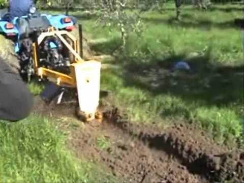αυλακωτηρας Φ28.wmv γεωργικα μηχανηματα