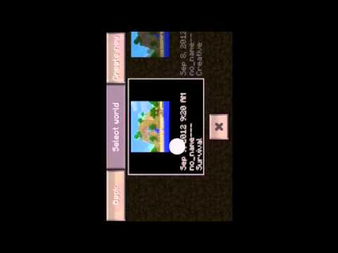 Minecraft Pocket Edition 0.4.0 Duplication Glitch
