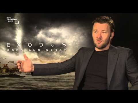 Joel Edgerton found new freedom wearing a skirt in Exodus: Gods and Kings