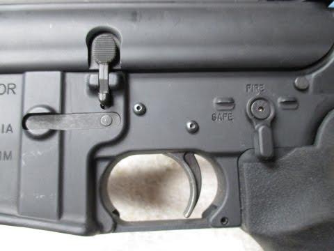 AR 15 Hammer and Trigger