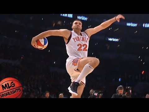 2018 Verizon Slam Dunk Contest - First Round / Feb 17 / 2018 NBA All-Star Weekend
