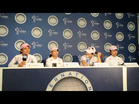 Ai Miyazato (宮里藍) press conference - LPGA International Crown, July 26, 2014 - Meniscus Magazine