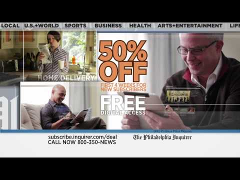 The Philadelphia Inquirer TV Commercial - Sports