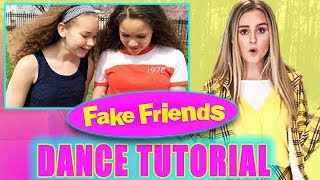 "Sierra & Olivia Haschak Learn Ivey's ""Fake Friends"" Dance!!"