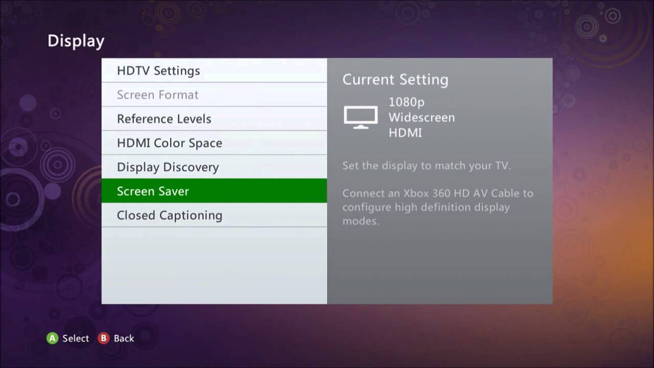 Xbox 360 Benq Settings Tutorial Youtube