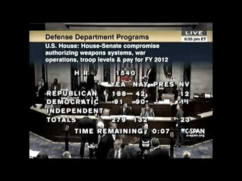 NDAA Bill 2012 Passed, Martial-Law Now Official (Senator Palpatine Declares Galactic Empire)