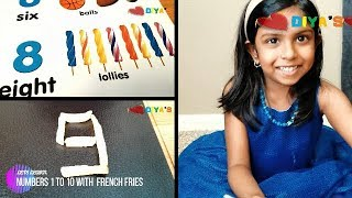 Learn Numbers for Kids| French Fries | McDonald Happy Meal Toy