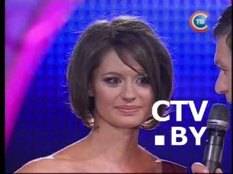 Анна Евдокимова в финале Мисс Минск 2009