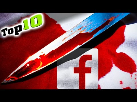 Top 10 - Furchtbare Facebook, Twitter und MySpace Verbrechen