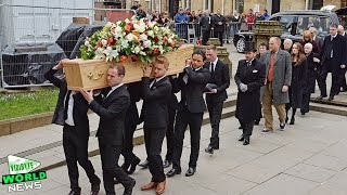 Funeral held for Coronation Street creator Tony Warren