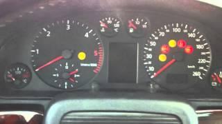 Starting a 1998 Audi A4 TDI Diesel at -30°C/-22°F