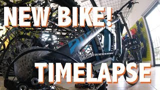BIKE BUILD NORCO AURUM 7.2 TIMELAPSE