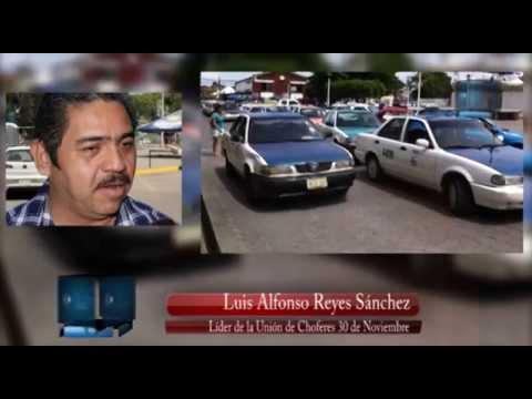 Se reúne SEVITRA con concesionarios de taxis en Tuxtepec