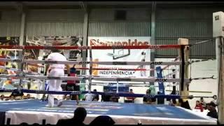 "Junior boxeando en tijuana calle 9 round 3"""