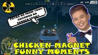 CHICKEN MAGNET | FUNNY MOMENTS | (Rules of Survival) [TAGALOG]