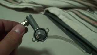 air compressor to vacuum pump hack