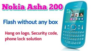 How to flash Nokia asha 200 without box, using usb pinout || Verified Tricks