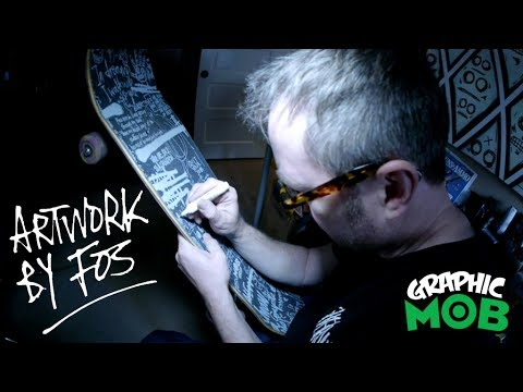 "FOS x Graphic MOB Grip - Mark ""FOS"" Foster Design Process"