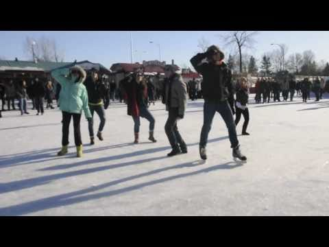 Flash Mob at Carleton University