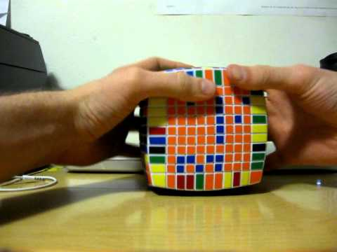 Last Two Centers Tutorial (11x11 Rubik's cube)