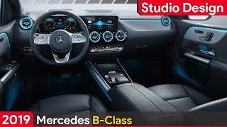 Mercedes B Class 2019 AMG Line ► INTERIOR STUDIO DESIGN
