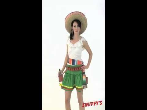 Girl Mexican Costume Mexican Tequila Shooter Girl