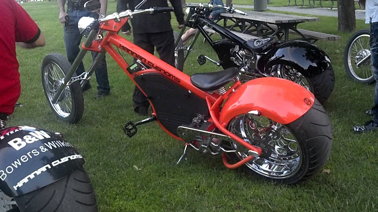 choppers awesome looking electric scooter from jesse